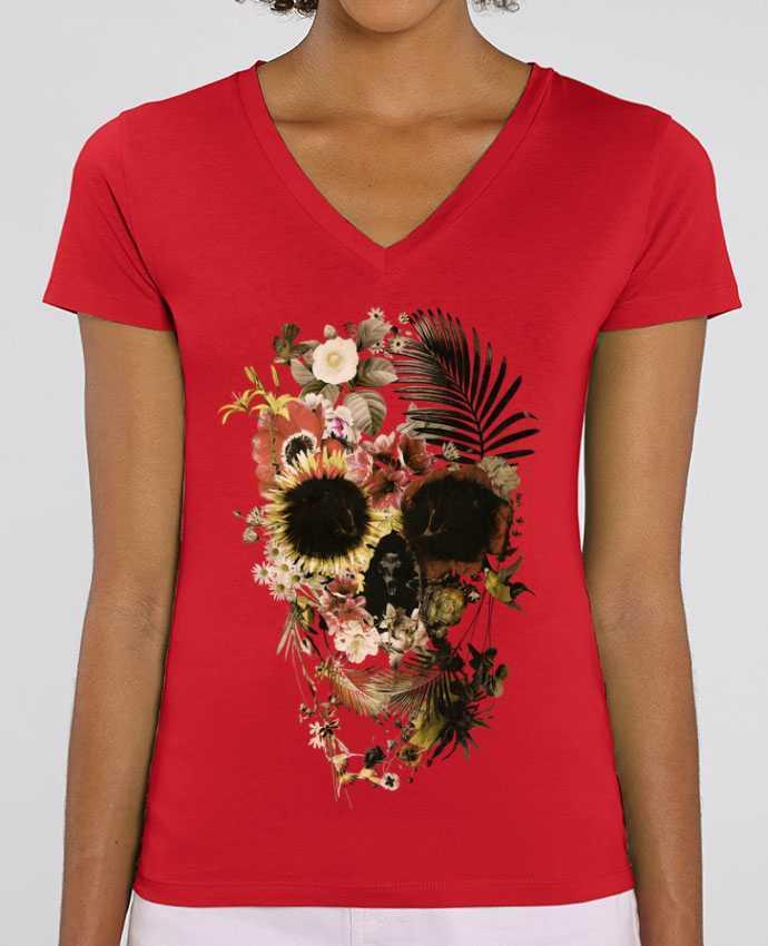 Tee-shirt femme Garden Skull Par  ali_gulec