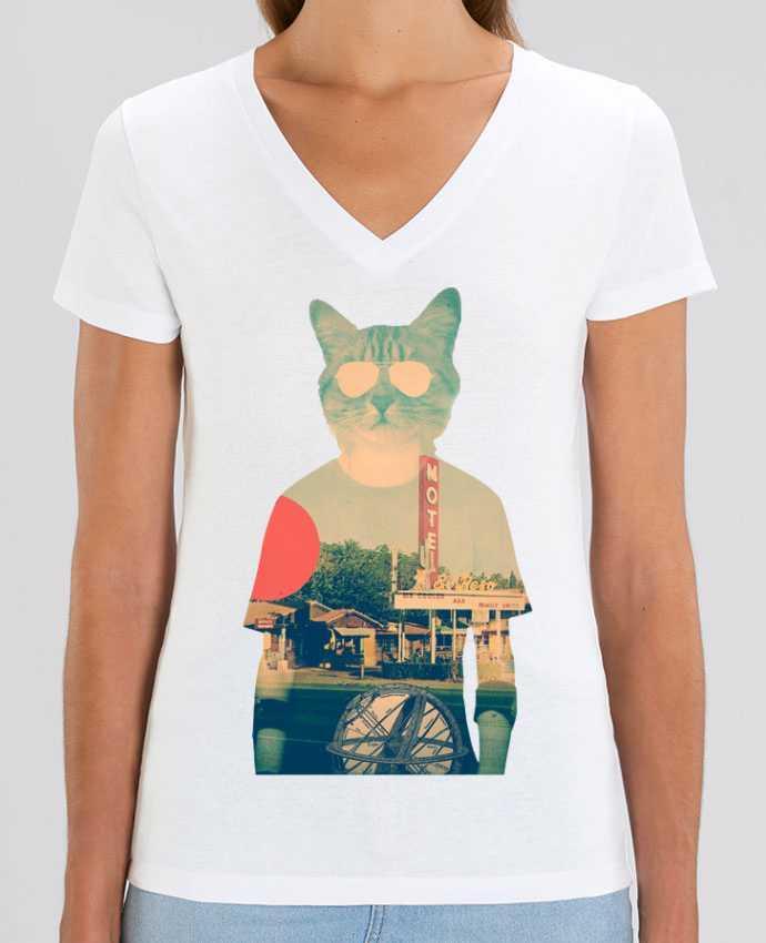 Tee-shirt femme Cool cat Par  ali_gulec