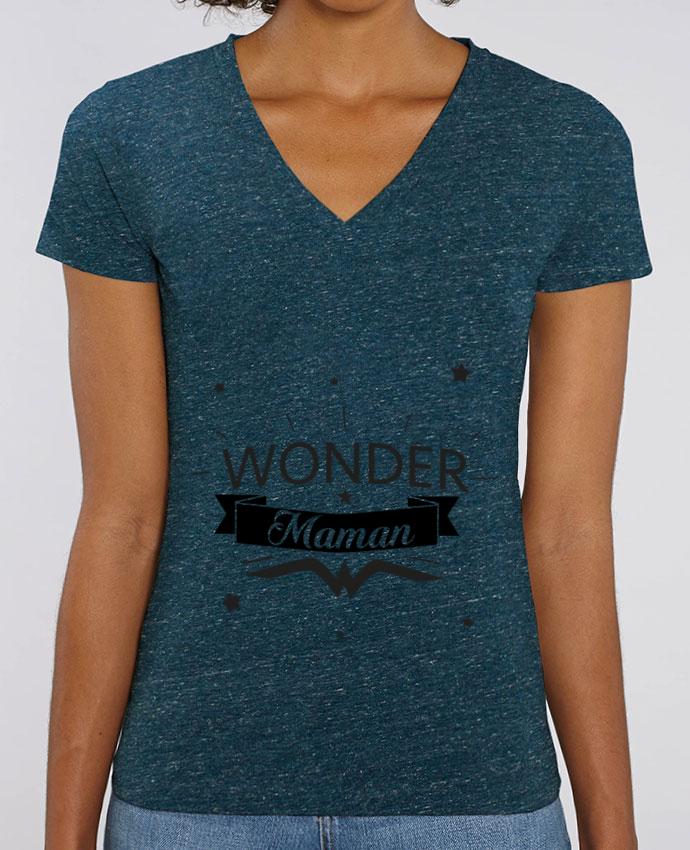 Tee-shirt femme Wonder Maman Par  IDÉ'IN