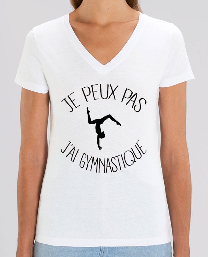 Tee-shirt femme Je peux pas j'ai gymnastique Par  Freeyourshirt.com