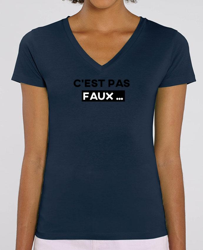 Tee-shirt femme C'est pas faux ... Par  tunetoo