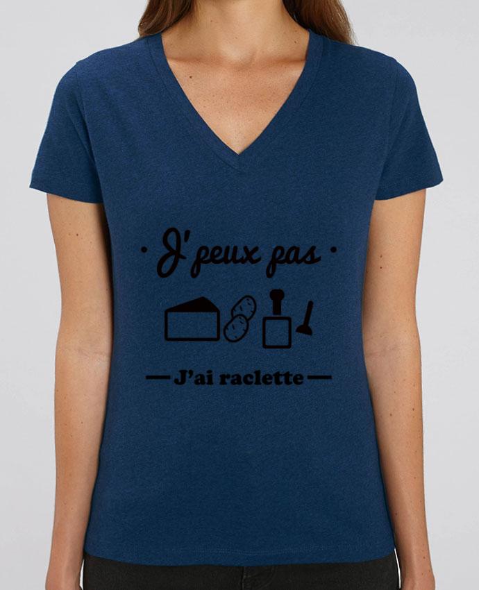 Tee-shirt femme J'peux pas j'ai raclette Par  Benichan