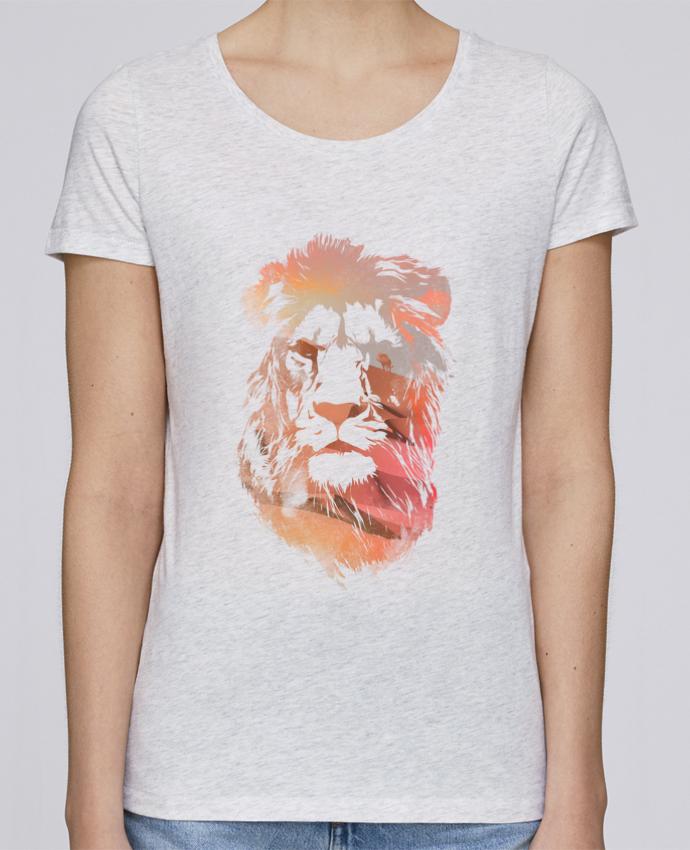 T-shirt Femme Stella Loves Desert lion par robertfarkas