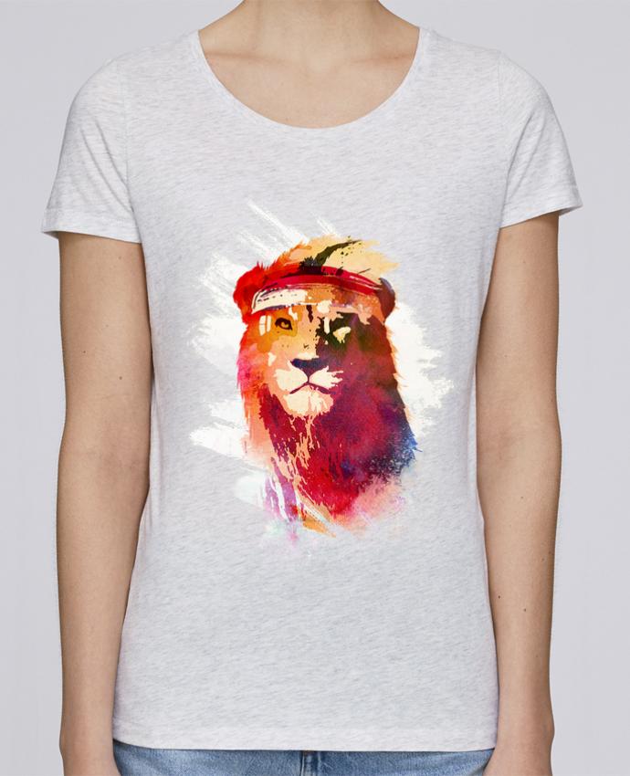 T-shirt Femme Stella Loves Gym lion par robertfarkas