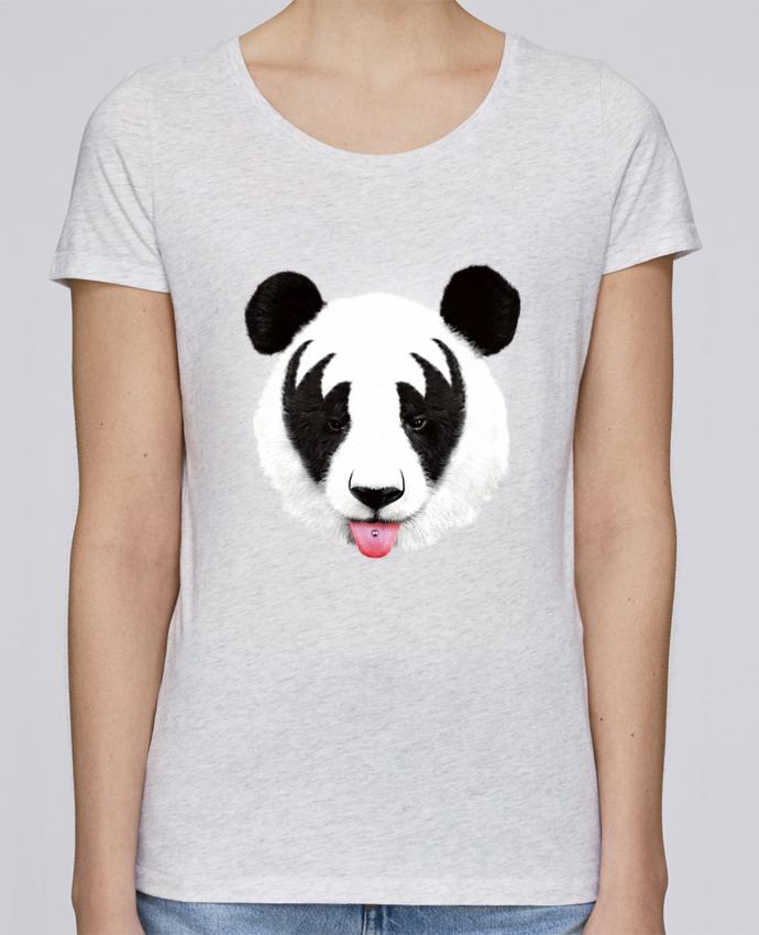 T-shirt Femme Stella Loves Kiss of a panda par robertfarkas
