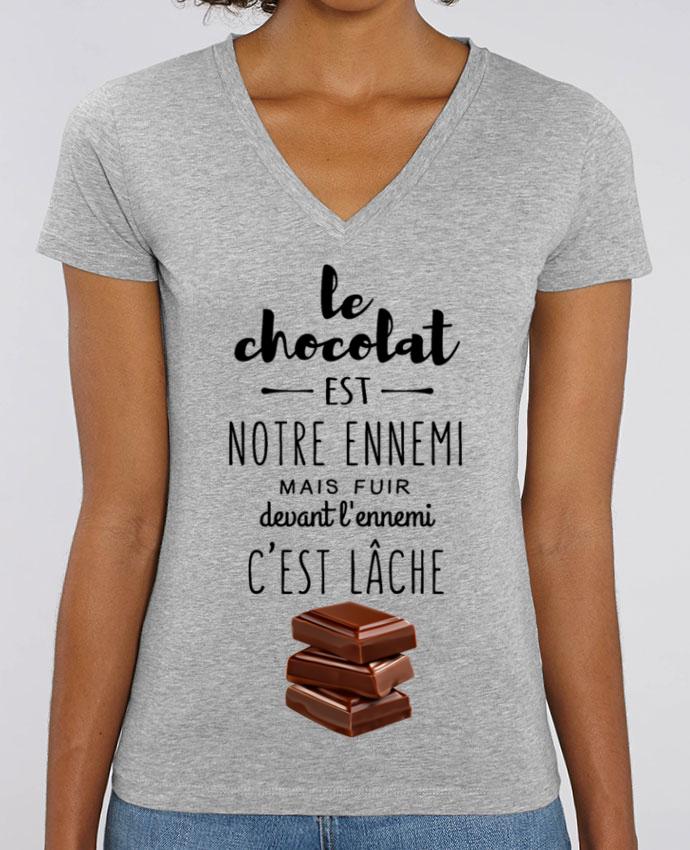 Tee-shirt femme chocolat Par  DesignMe