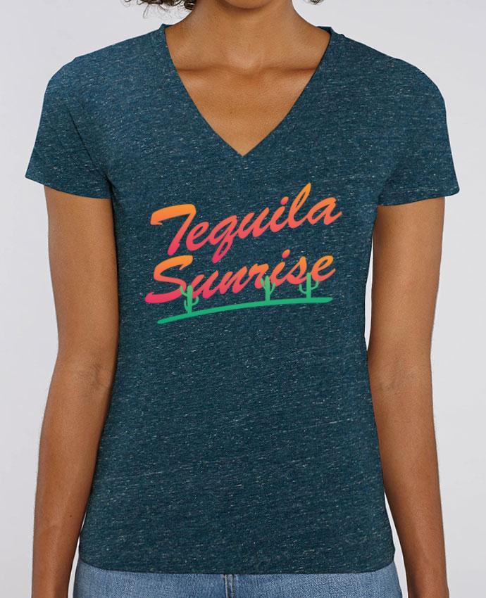 Tee-shirt femme Tequila Sunrise Par  tunetoo