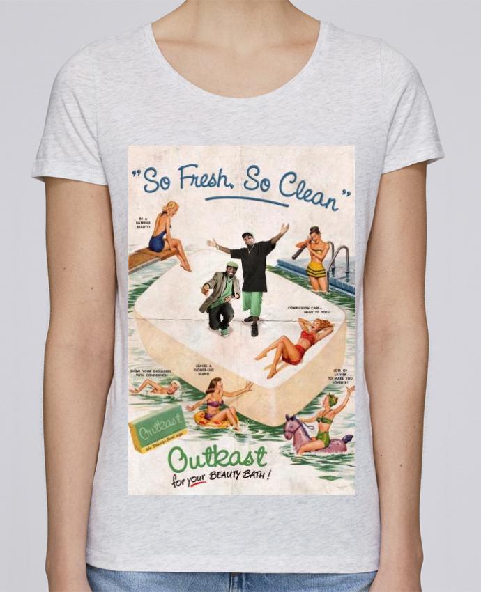T-shirt Femme Stella Loves So Fresh So Clean par Ads Libitum