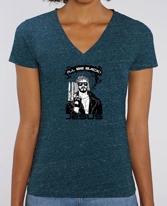 Tee-shirt femme Terminator Jesus Par  Nick cocozza