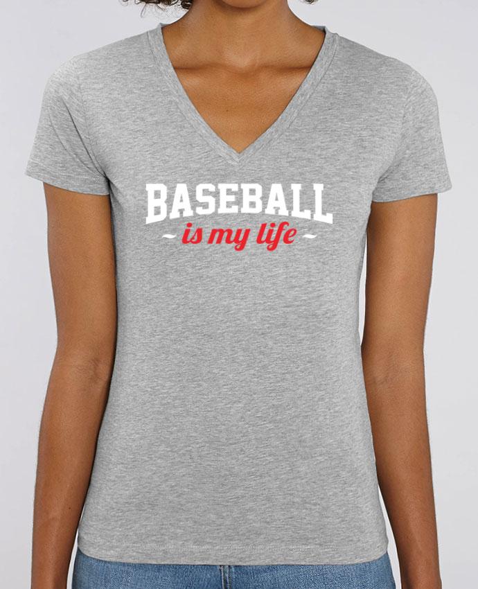 Tee-shirt femme Baseball is my life Par  Original t-shirt