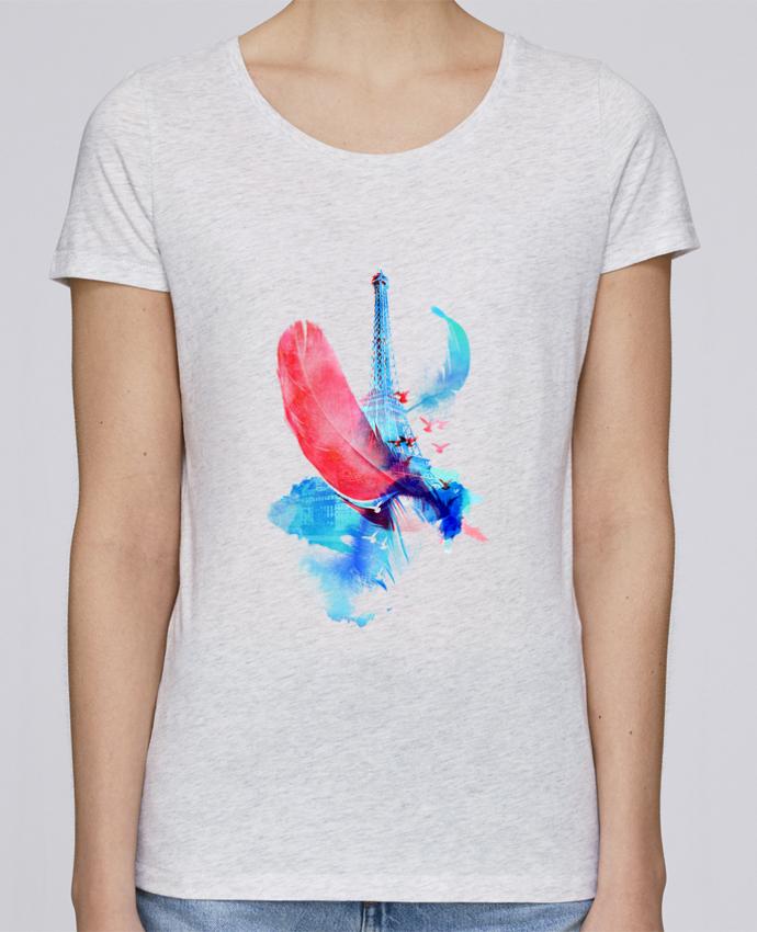 T-shirt Femme Stella Loves Pigeons of Paris par robertfarkas