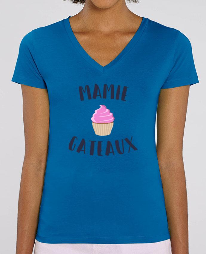 Tee-shirt femme Mamie gâteaux Par  tunetoo