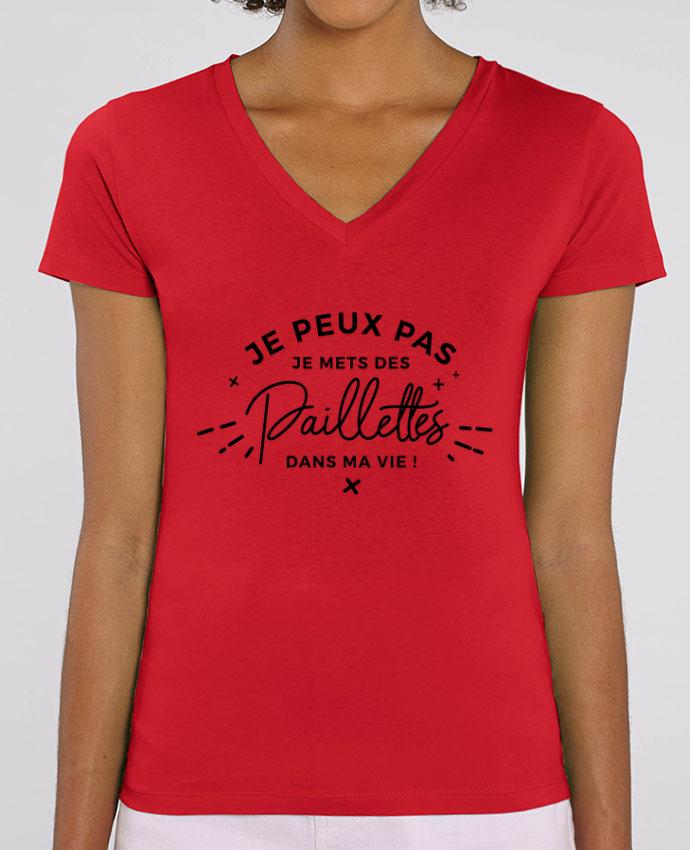 Tee-shirt femme Paillettes Par  Nana