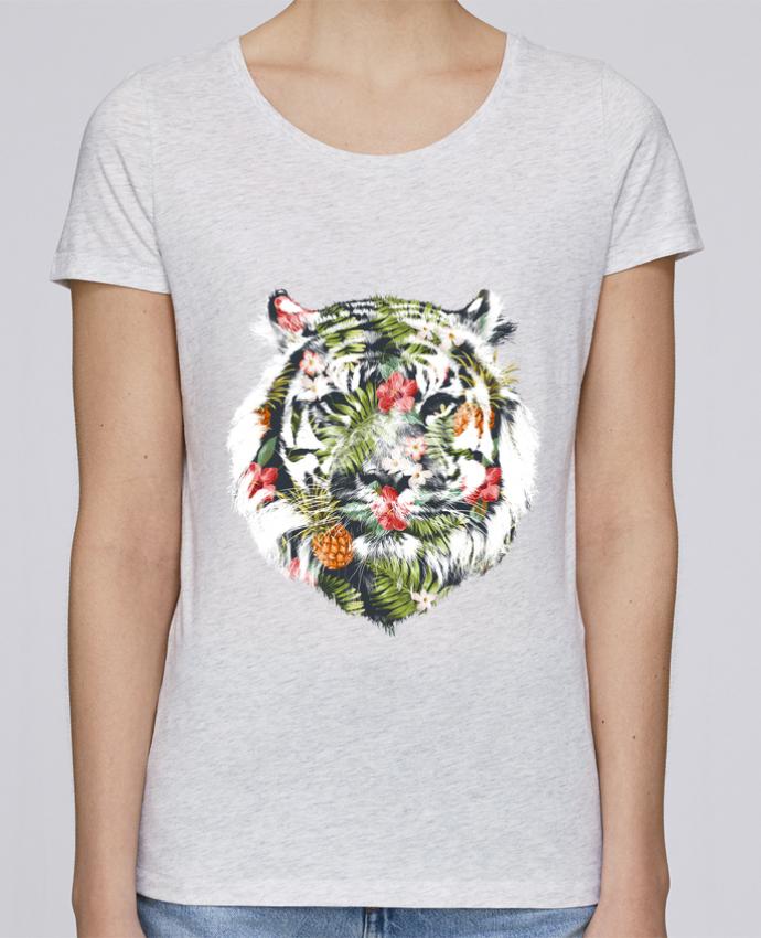 T-shirt Femme Stella Loves Tropical tiger par robertfarkas