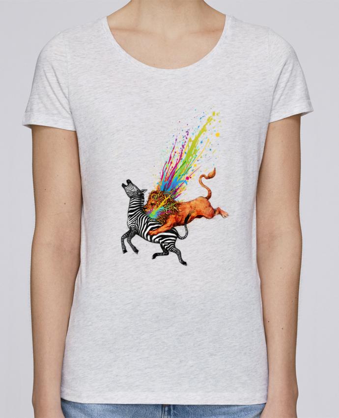 T-shirt Femme Stella Loves Kill monotony par Enkel Dika