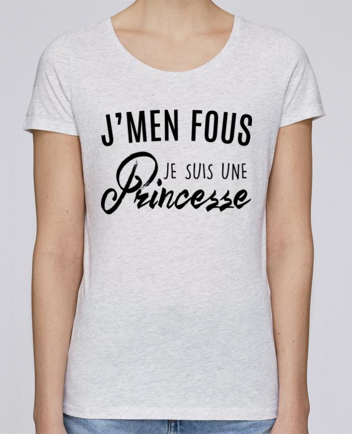 T-shirt Femme Stella Loves J'men fous je suis une princesse par LPMDL
