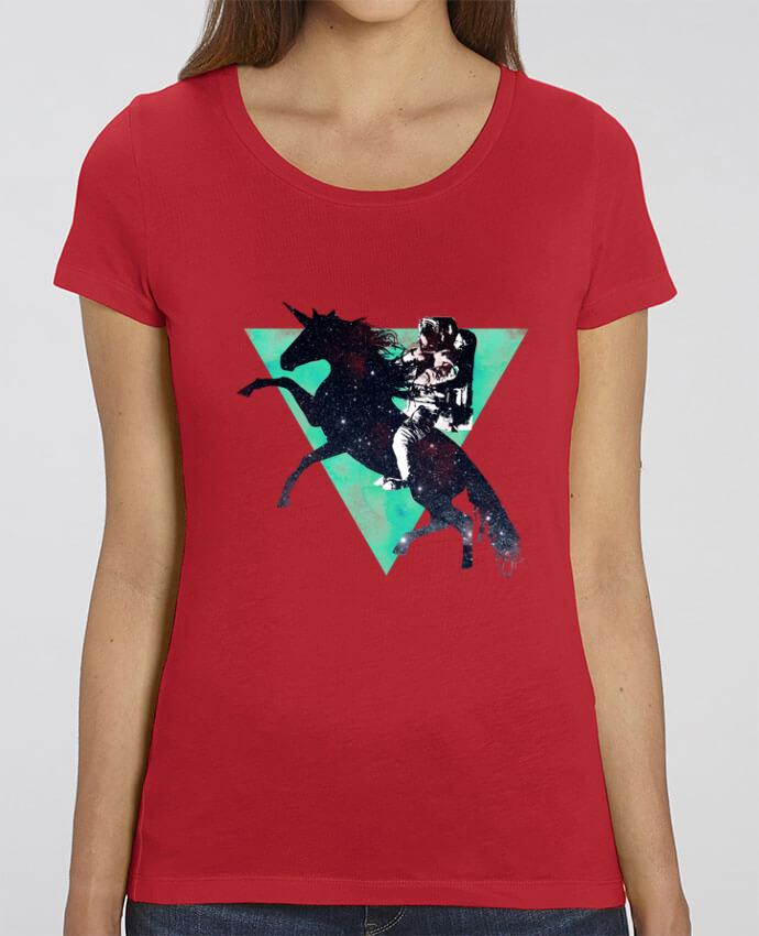 T-shirt Femme Ride the universe par robertfarkas