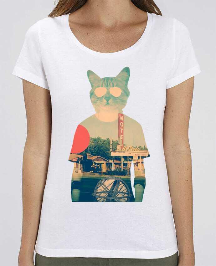 T-shirt Femme Cool cat par ali_gulec