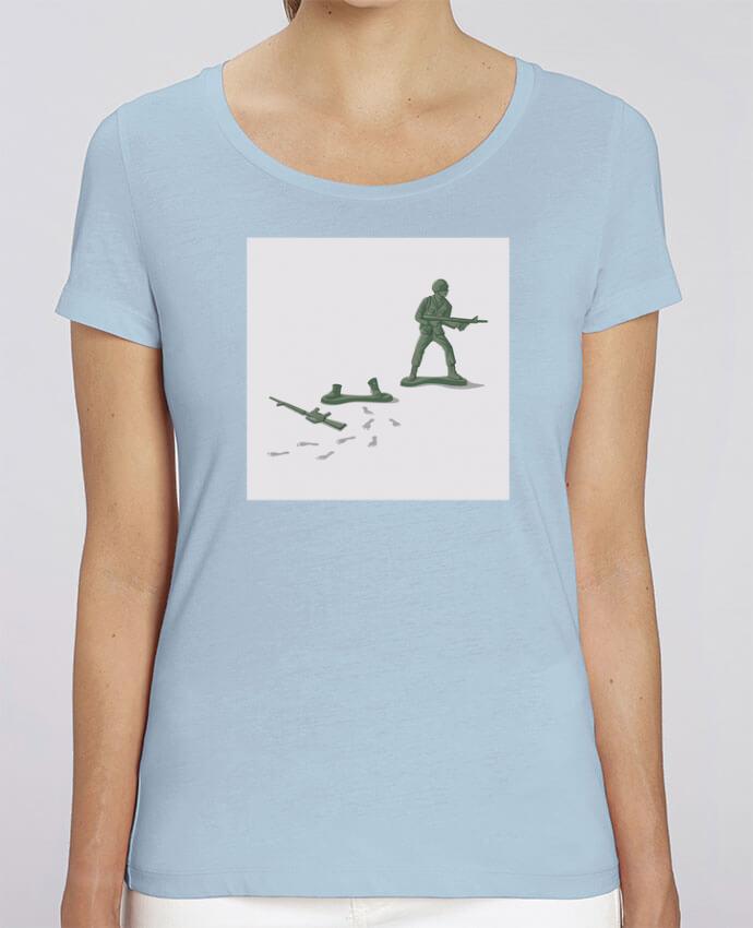 T-shirt Femme Deserter par flyingmouse365