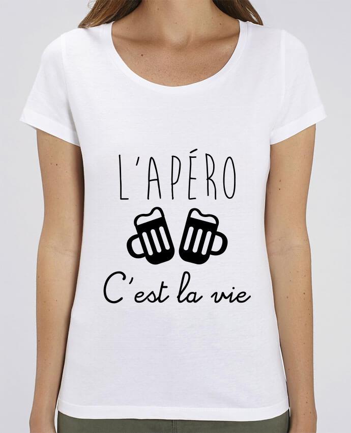 T-Shirt Essentiel - Stella Jazzer L'apéro c'est la vie , humour , alcool , drôle par Benichan