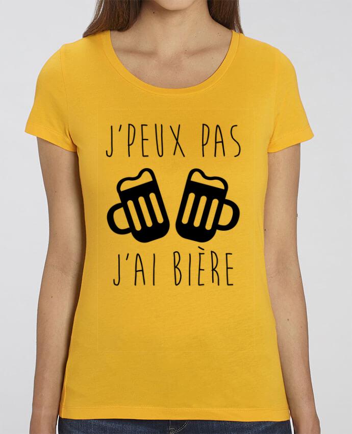 T-shirt Femme J'peux pas j'ai bière par Benichan