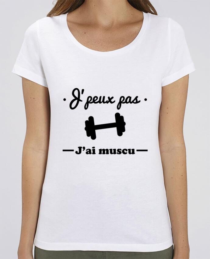 T-shirt Femme J'peux pas j'ai muscu, musculation par Benichan