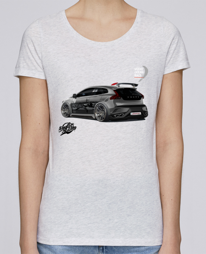Femme T5r Tuning Volvo V40 Stella Shirt Loves Unlimited T f7gby6