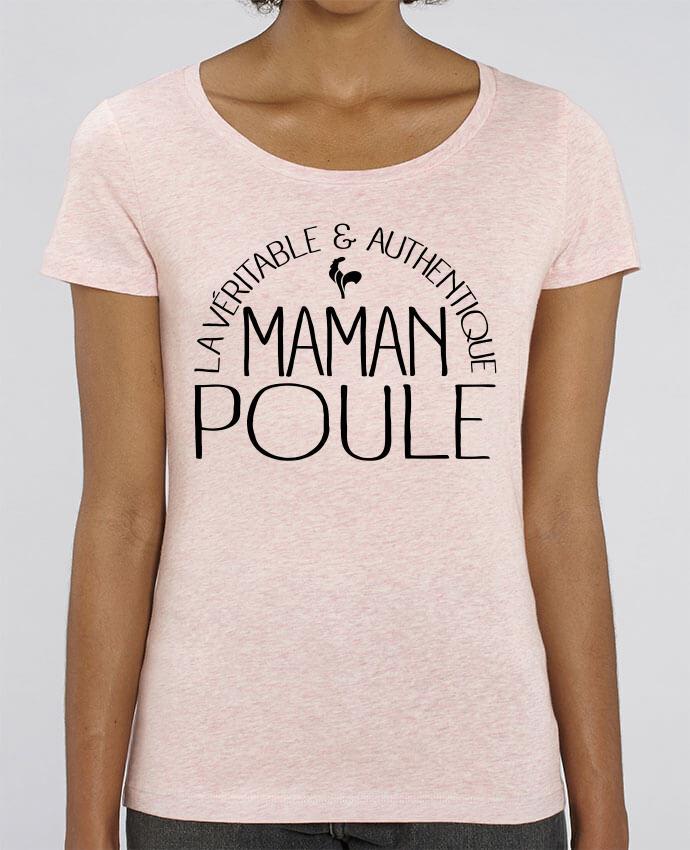 T-shirt Femme Maman Poule par Freeyourshirt.com