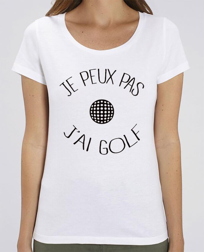 T-shirt Femme Je peux pas j'ai golf par Freeyourshirt.com