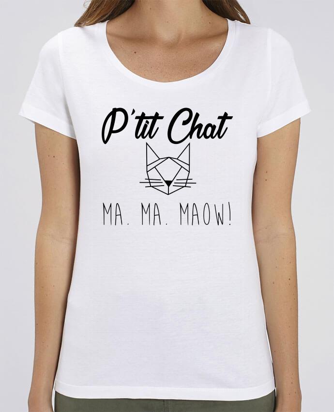 T-shirt Femme p'tit chat par Zdav