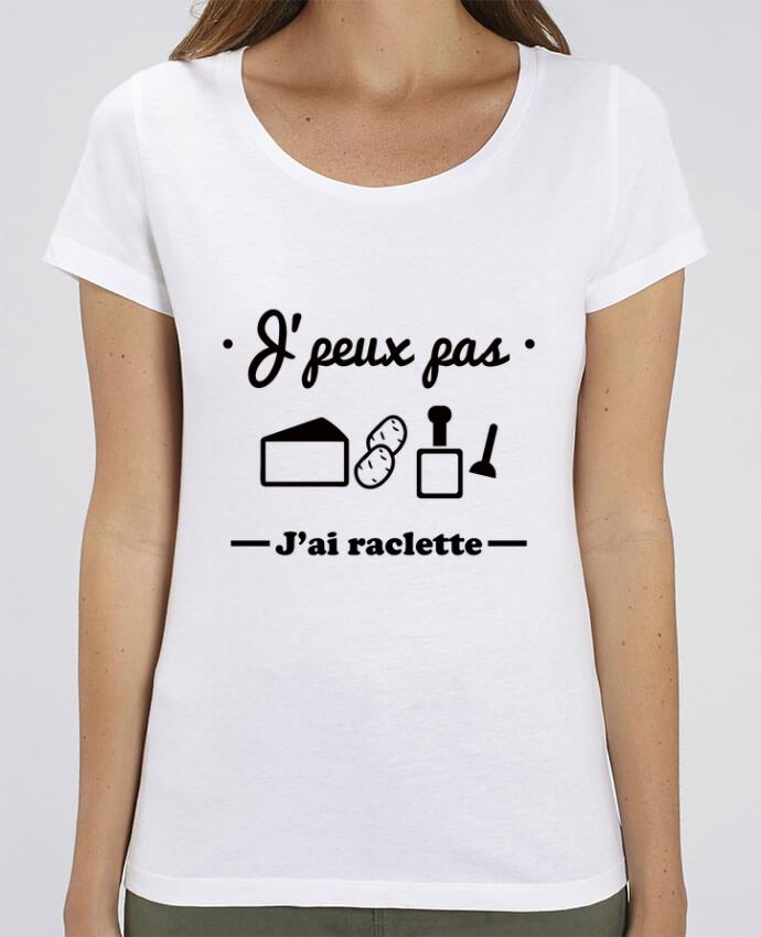 T-shirt Femme J'peux pas j'ai raclette par Benichan