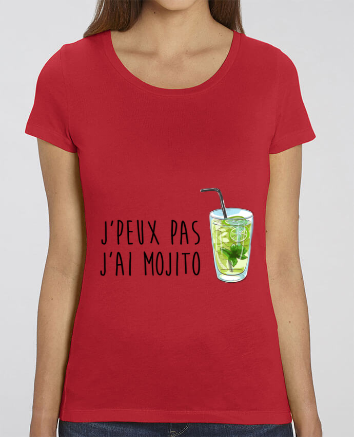T-shirt Femme Je peux pas j'ai mojito par FRENCHUP-MAYO