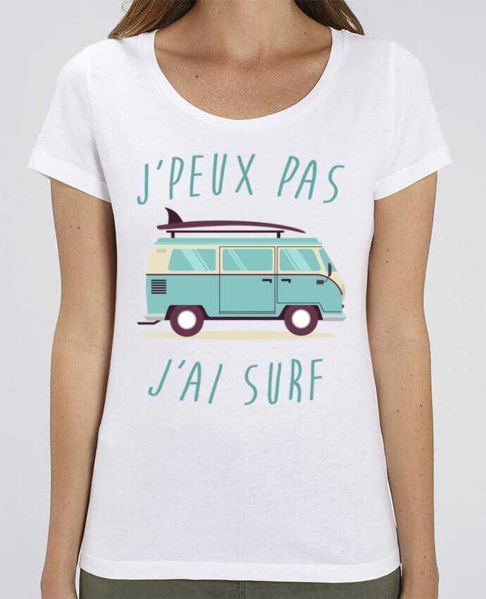 T-shirt Femme Je peux pas j'ai surf par FRENCHUP-MAYO