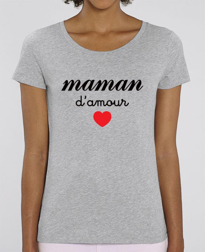 T-shirt Femme Maman D'amour par Freeyourshirt.com
