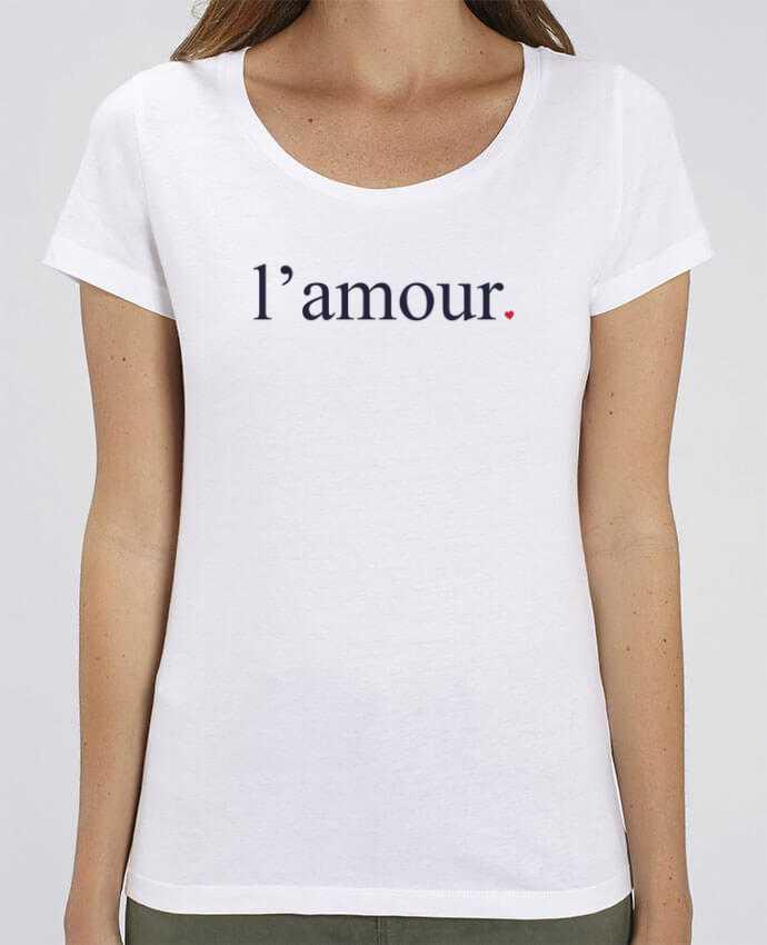 T-shirt Femme l'amour by Ruuud par Ruuud