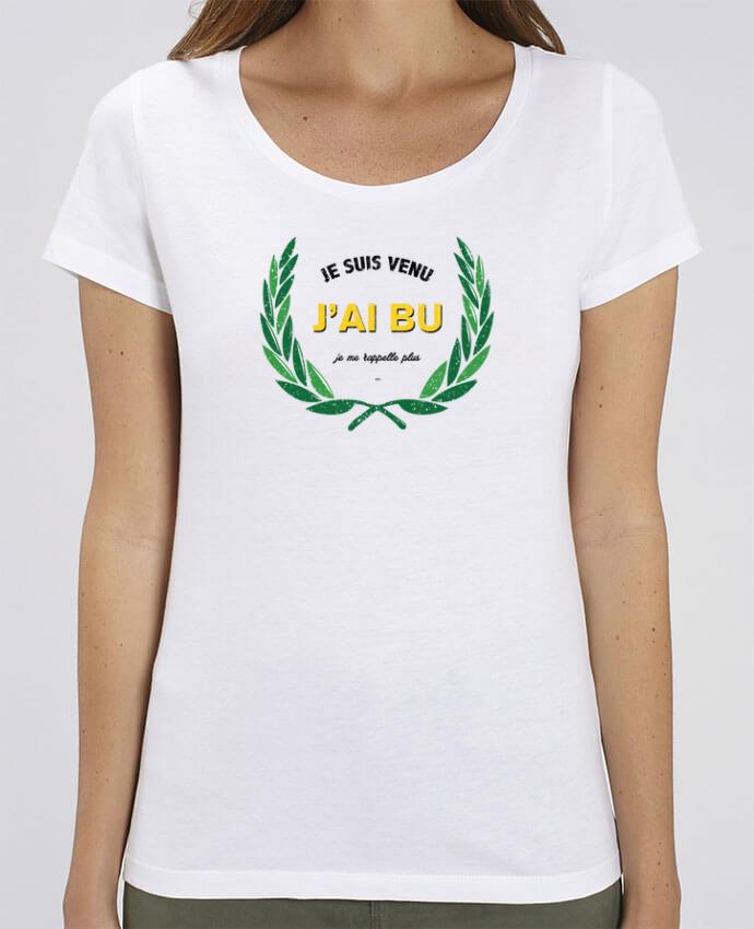 T-shirt Femme Je suis venu, j'ai bu, je me rappelle plus par tunetoo