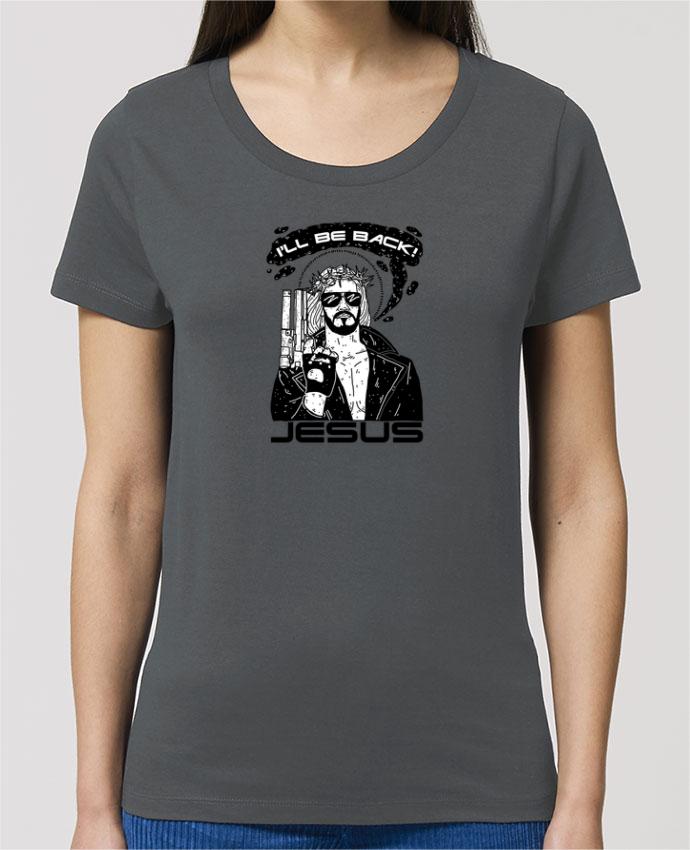T-shirt Femme Terminator Jesus par Nick cocozza