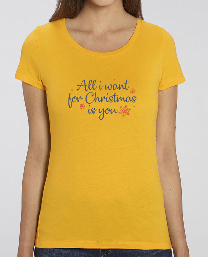 T-Shirt Essentiel - Stella Jazzer All i want for christmas is you par Nana