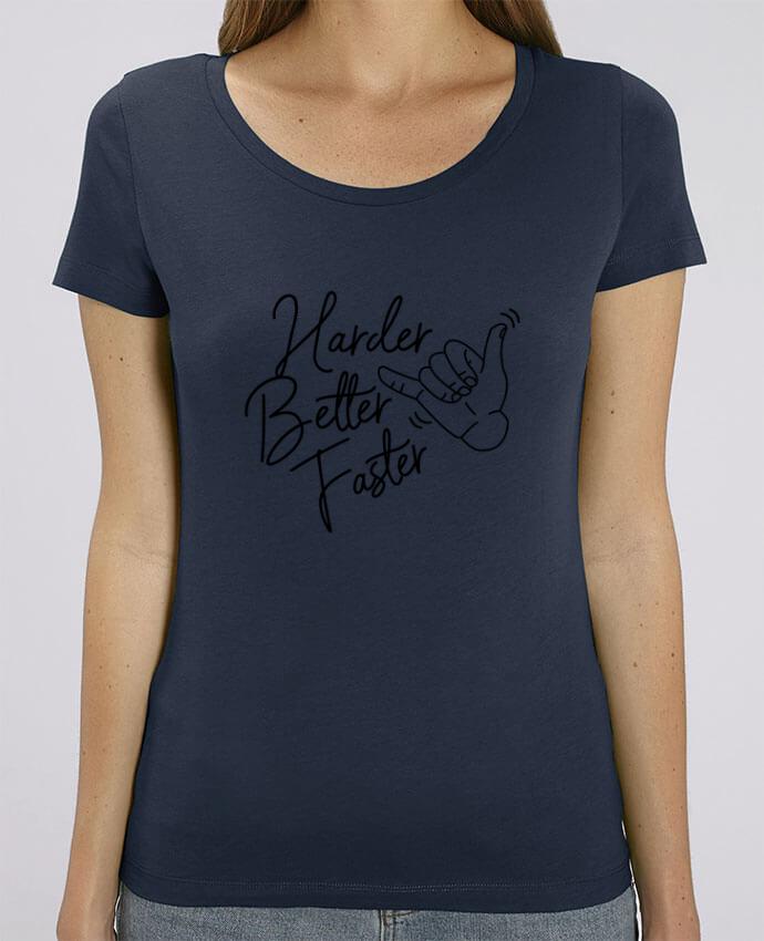 T-shirt Femme Harder Better Faster par Nana