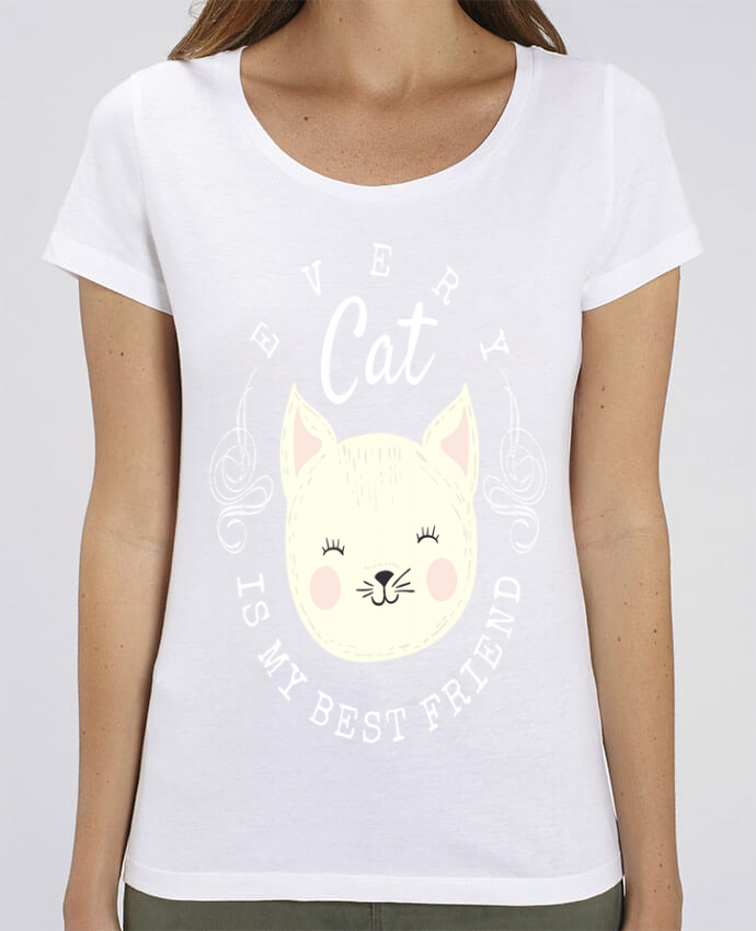 T-shirt Femme every cat is my best friend par livelongdesign