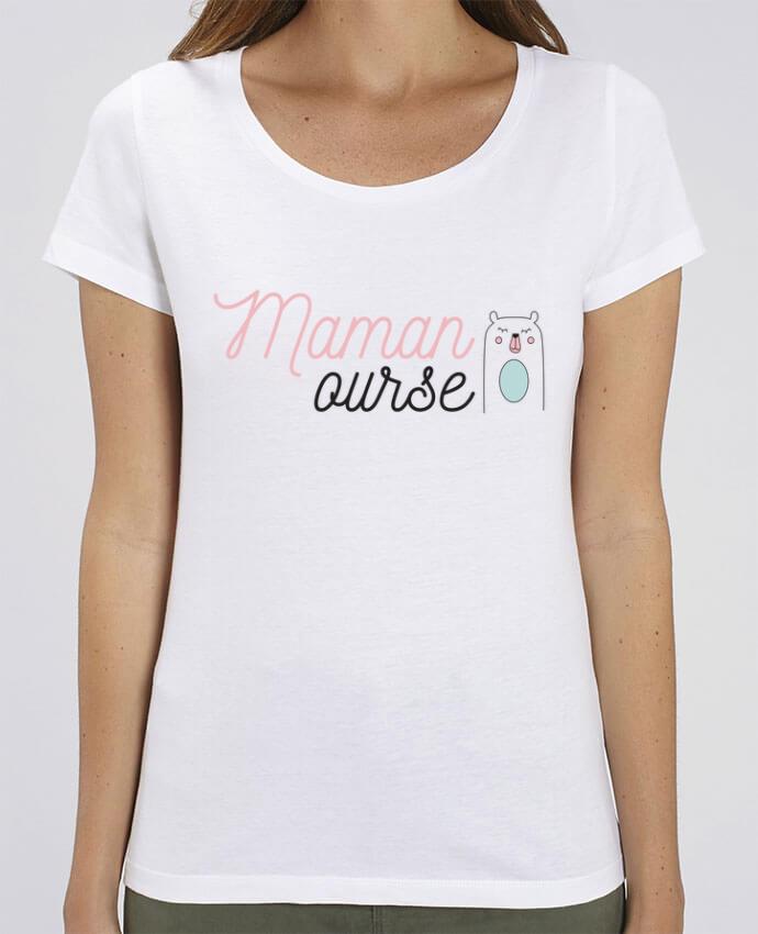 T-shirt Femme Maman ourse par tunetoo