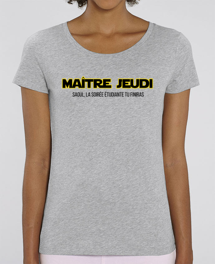 T-shirt Femme Maître jeudi par tunetoo