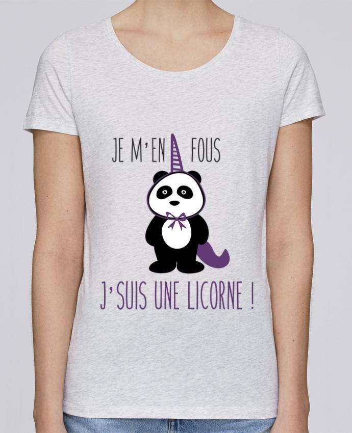 T-shirt Femme Stella Loves Je m'en fous j'suis une licorne par Benichan