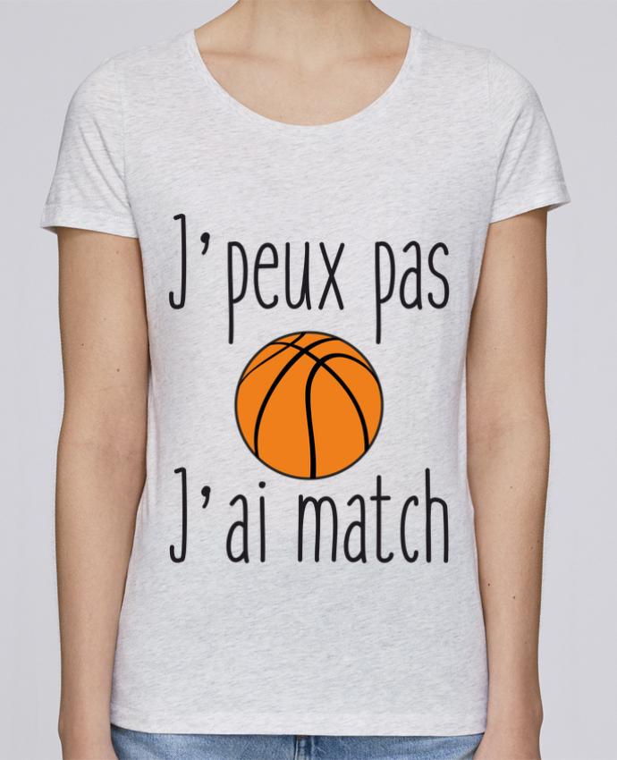 T-shirt Femme Stella Loves J'peux pas j'ai match de basket par Benichan