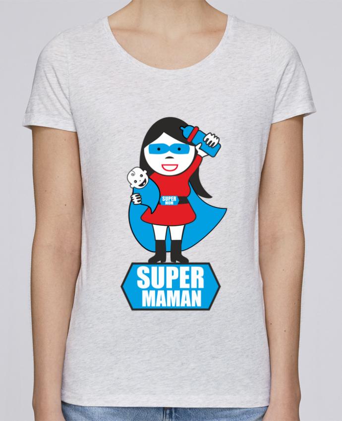 T-shirt Femme Stella Loves Super maman par Benichan