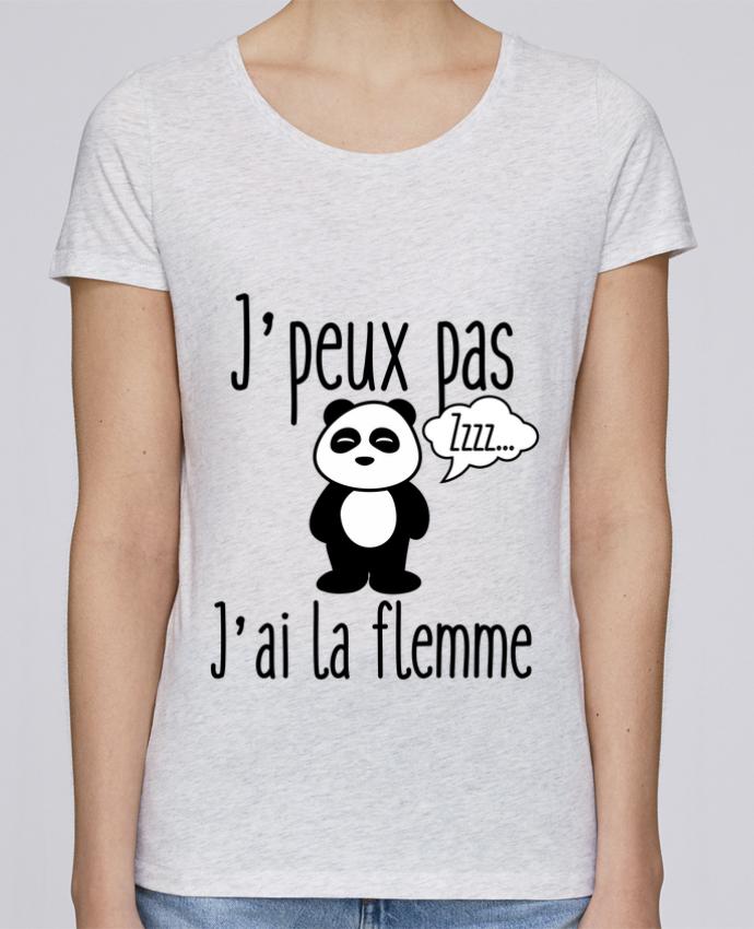 T-shirt Femme Stella Loves J'peux pas j'ai la flemme par Benichan
