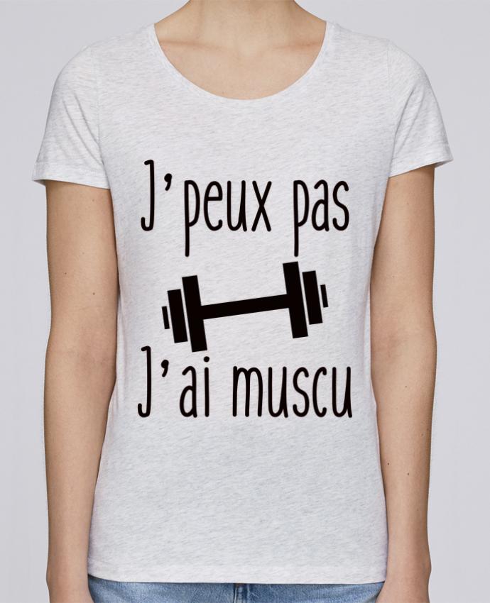 T-shirt Femme Stella Loves J'peux pas j'ai muscu par Benichan