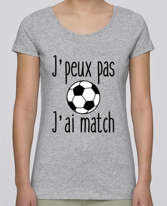 T-shirt Femme Stella Loves J'peux pas j'ai match de foot par Benichan