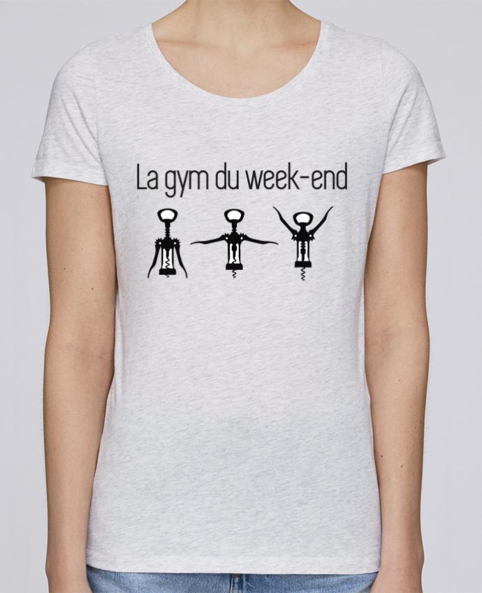 T-shirt Femme Stella Loves La gym du week-end par Benichan