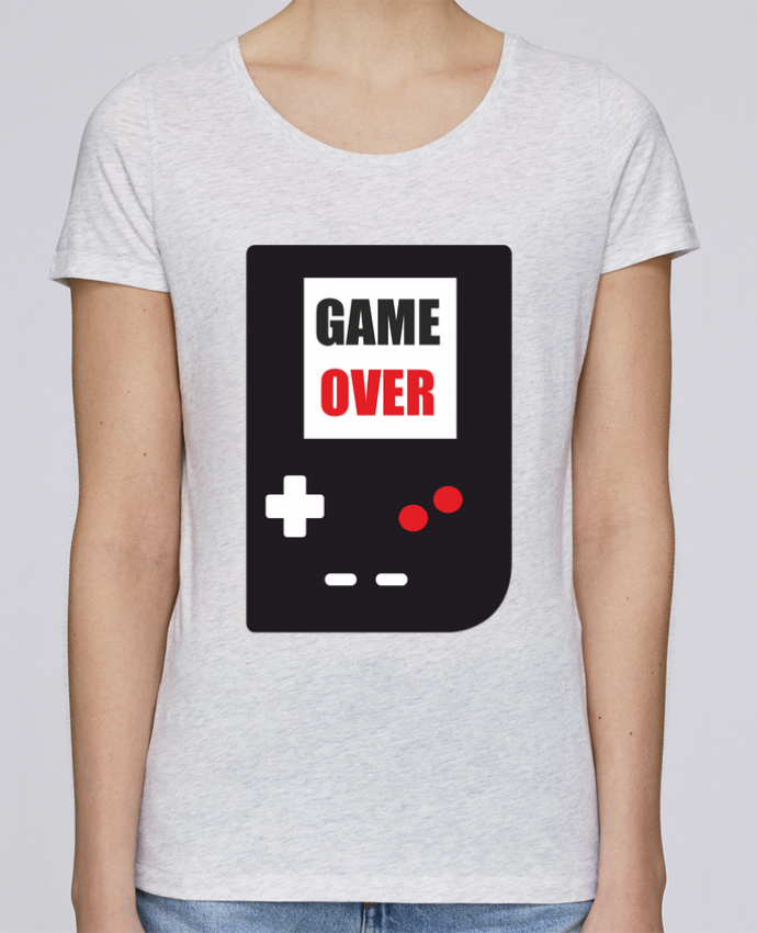 T-shirt Femme Stella Loves Game Over Console Game Boy par Benichan